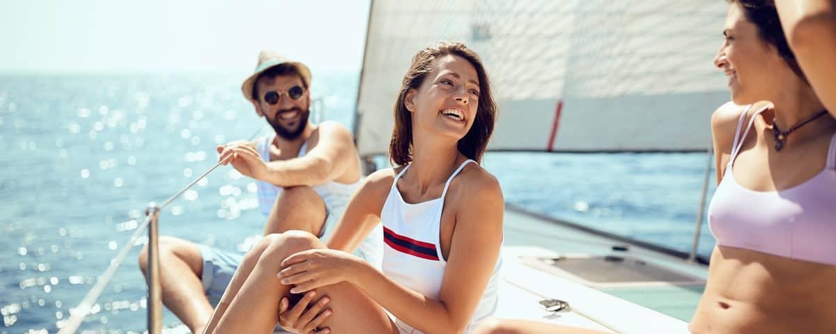 Segelyacht mit Skipper