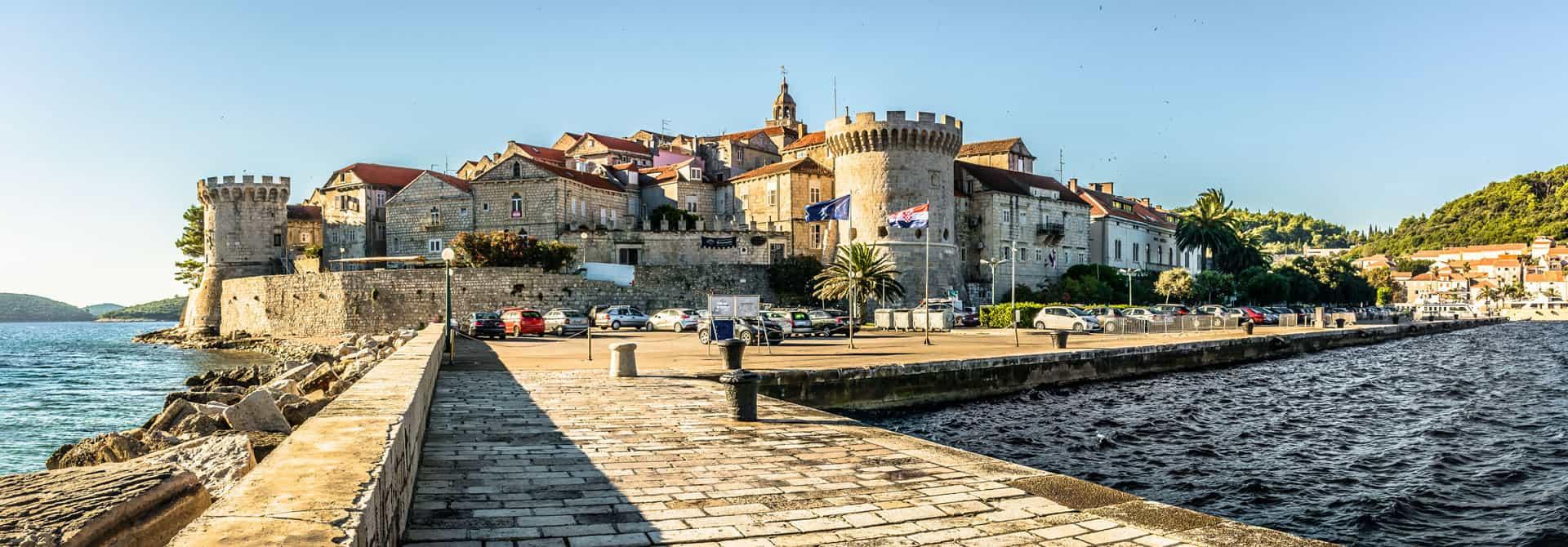Stadt Korčula