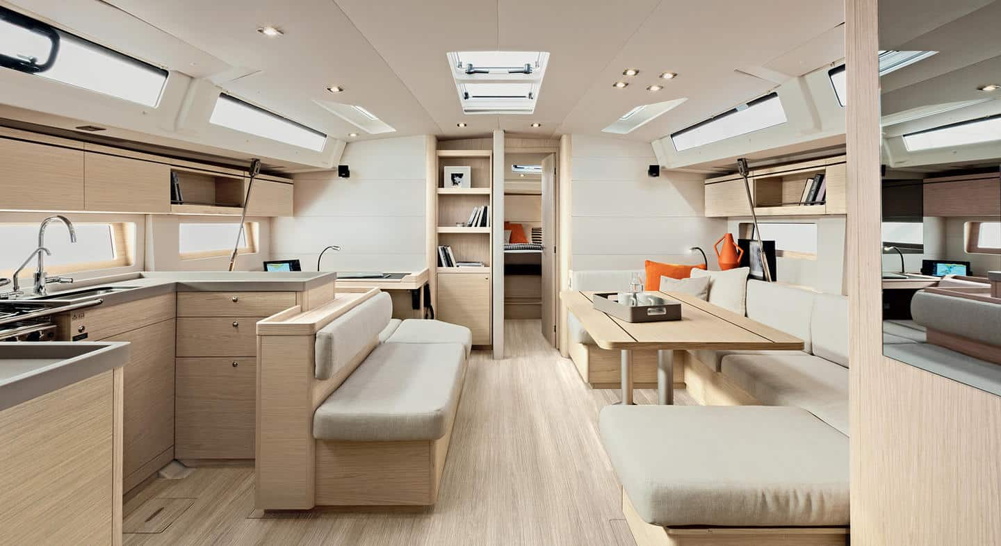 oceanis51.1 interieur salon